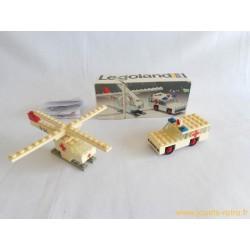 Boite Lego Legoland 653 Ambulance et Hélicoptère