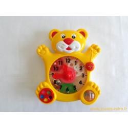 Ours horloge - Teddy Bear Clock - Redbox 1989