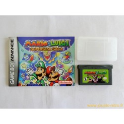 Mario & Luigi : Superstar Saga - Jeu Game Boy Advance GBA
