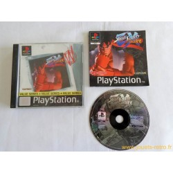 Street Fighter Ex Plus Alpha - Jeu Ps1