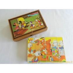 Boite 24 cubes puzzle Disney Garnier