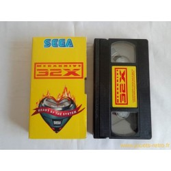 VHS Sega Megadrive 32 X
