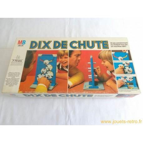 Dix de Chute - Jeu MB 1977
