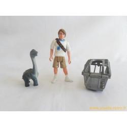 Jurassic Park - Tim Murphy + bébé Brachiosaure figurine Kenner 1993