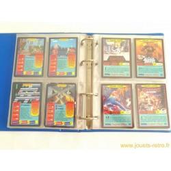 Classeur cartes Panini Sega Super Play complet