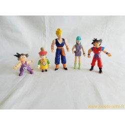Dragon Ball lot de 5 figurines 1989