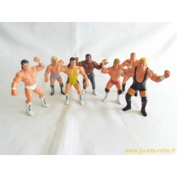 Lot Catcheurs WCW - Galoob 1990