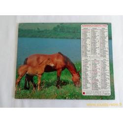 Almanach du facteur 1983