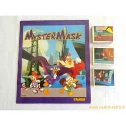 Album Panini MysterMask vide + toutes les vignettes