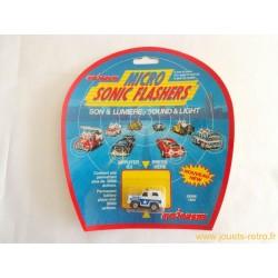 4x4 Police Sheriff Majorette Micro Sonic Flashers
