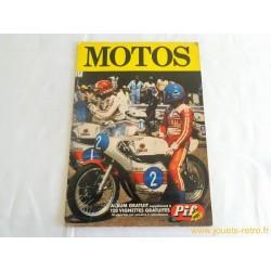 Motos Album vignettes Pif gadget