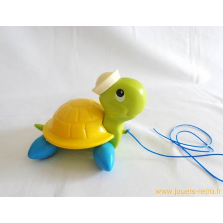 Tortue à tirer - Fisher Price 1977