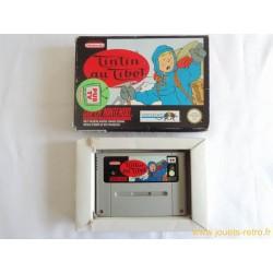 Tintin au Tibet - jeu SNES