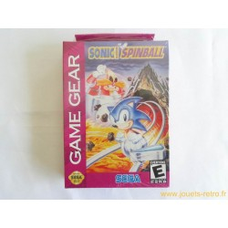 Sonic Spinball - Jeu Game Gear NEUF