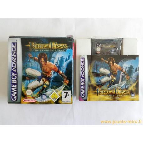 Prince of Persia Les sables du temps - jeu Game Boy Advance GBA