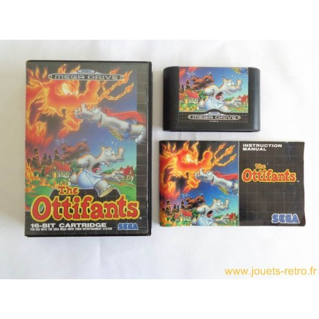 The Ottifants - jeu Megadrive