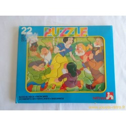 Blanche Neige Puzzle Disney Nathan 1986