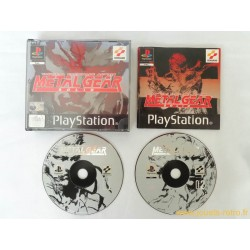 Metal Gear Solid - Jeu PS1