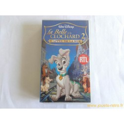 La Belle et le Clochard 2 - Disney vhs