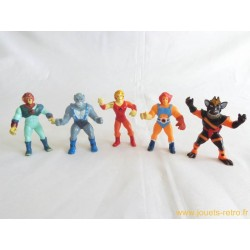 Cosmocats lot figurines Telepix 1986