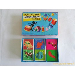 Domino des associations d'idées - Jeu Nathan 1970