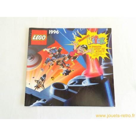 Rétro Jeux Jouets Duplo Objets Et De Lego 1996 Catalogue Vidéo Société Livres Vintage 7f6gYbyv