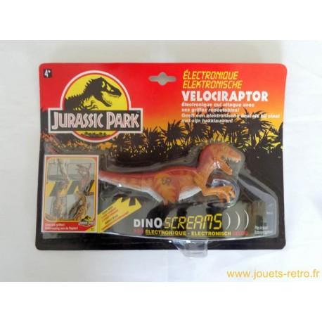 Velociraptor électronique Jurassic Park Kenner 1993 NEUF
