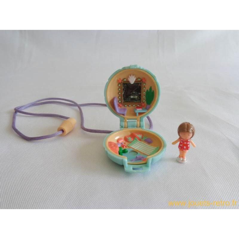 1991 POLLY POCKET Lulu clip sur boucles d/'oreilles neuves dans emballage scellé ultra rare