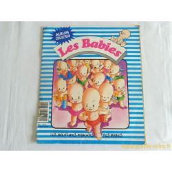 """Album vignettes """"Les Babies"""" complet"""