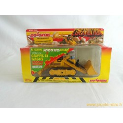 Bulldozer Majorette Construction NEUF série 4500