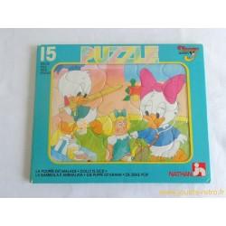 La poupée est malade - Puzzle Disney Babies Nathan