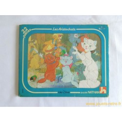 Les Aristochats Puzzle Disney Nathan 1983