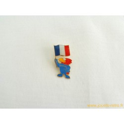Pin's Footix coupe du monde France 98 football