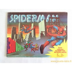 Album vignettes Spiderman 1978 Prodifu