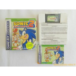 Sonic Advance 2 - jeu Game Boy Advance complet