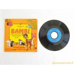 Bambi - 45T Livre disque vinyle