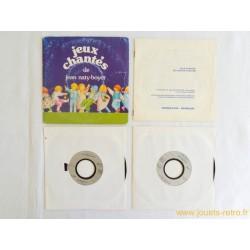 Jeux chantés - 2 disques 45 T + livret