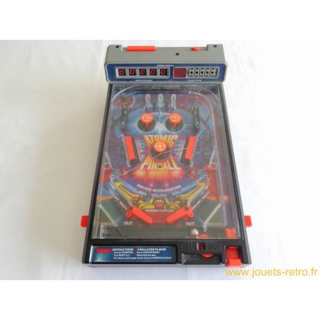Atomic Pinball flipper électronique Tomy 1980