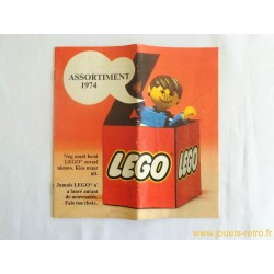 Catalogue Lego 1974