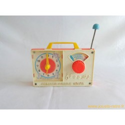 Radio horloge Fisher Price 1971