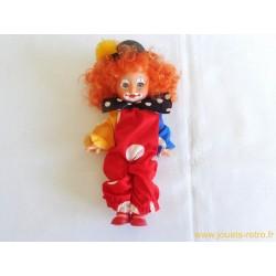 Poupée Clown vintage style el greco