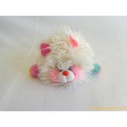Mini Popples blanc et rose - Mattel 1986