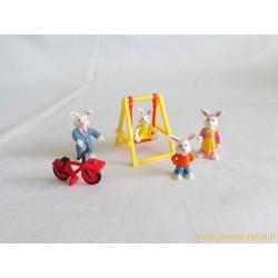 Set promenade au parc des lapins Mini Sweety - Vivid Imaginations