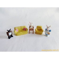 Set living room des lapins Mini Sweety - Vivid Imaginations