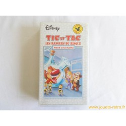 """Tic et Tac les Rangers du risque """"Rock à la ruche"""" VHS Disney"""
