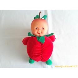 Poupée fruit Les Toufous Mundia Fraise