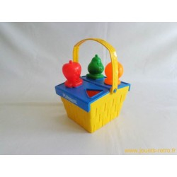 Panier à formes fruits Playskool