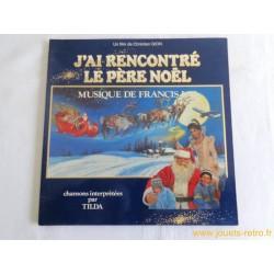 J'ai rencontré le Père Noël - disque vinyle 33 T
