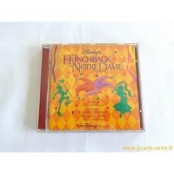 """""""Le Bossu de Notre Dame"""" cd BO dessin animé Disney"""