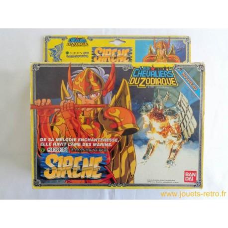 Sirène Les Chevaliers du Zodiaque Bandai 1987